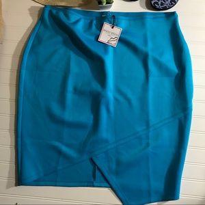 Bisou Bisou Blue Skirt - NWT - 0X